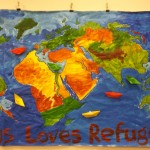 Messy Church - refugees - 2015